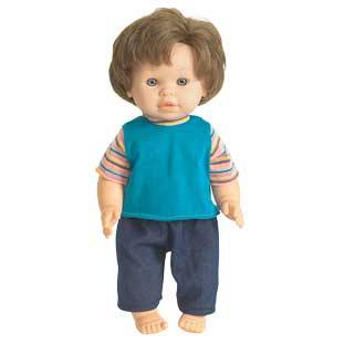 Discount School Supply 16  Multicultural Toddler Doll   Caucasian Boy   1 doll by Discount School Supply