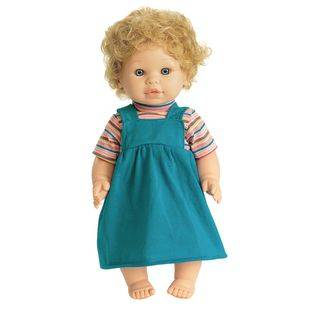 Discount School Supply 16  Multicultural Toddler Doll   Caucasian Girl   1 doll by Discount School Supply