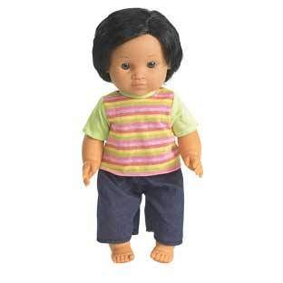 Discount School Supply 16  Multicultural Toddler Doll   Hispanic Boy   1 doll by Discount School Supply
