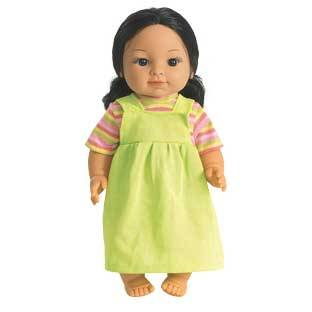 Discount School Supply 16  Multicultural Toddler Doll   Hispanic Girl   1 doll by Discount School Supply