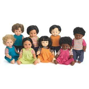 Discount School Supply 16  Multicultural Toddler Dolls   Set Of All 8 by Discount School Supply