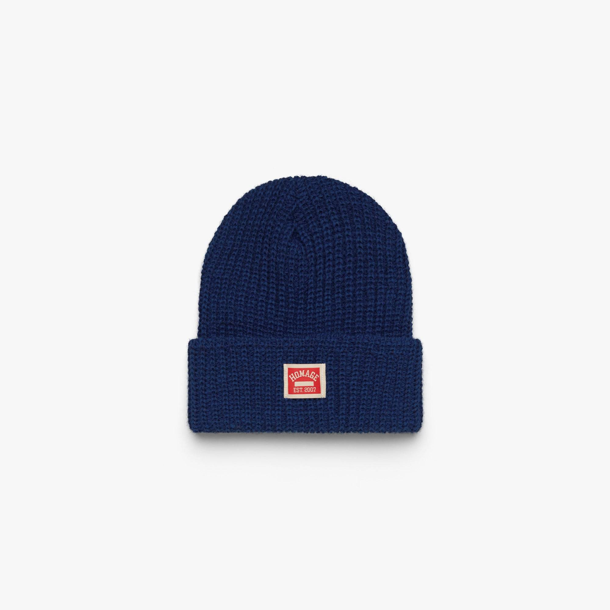 HOMAGE Go-To Beanie in  Blue (Size: One Size)
