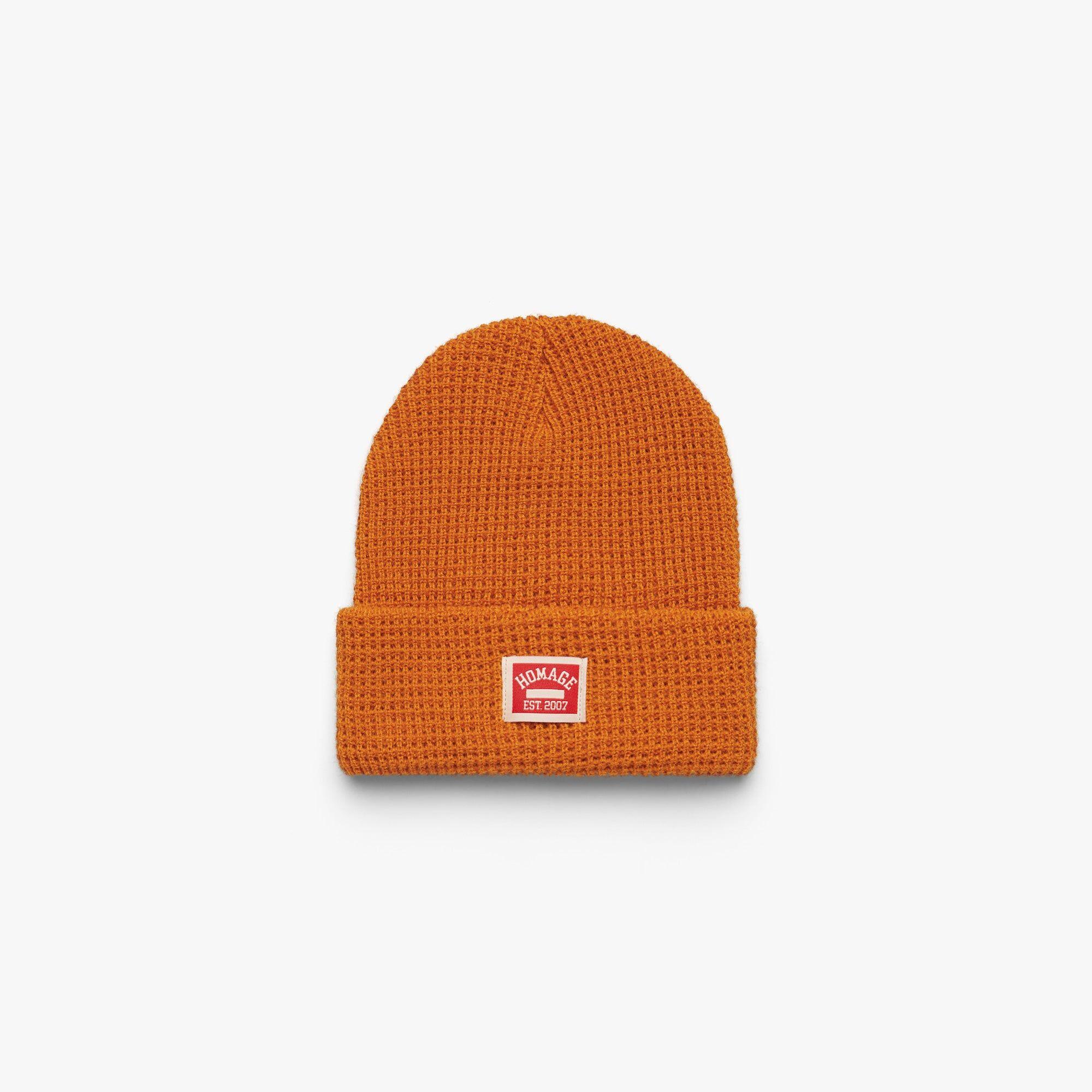 HOMAGE Go-To Beanie in  Orange (Size: One Size)