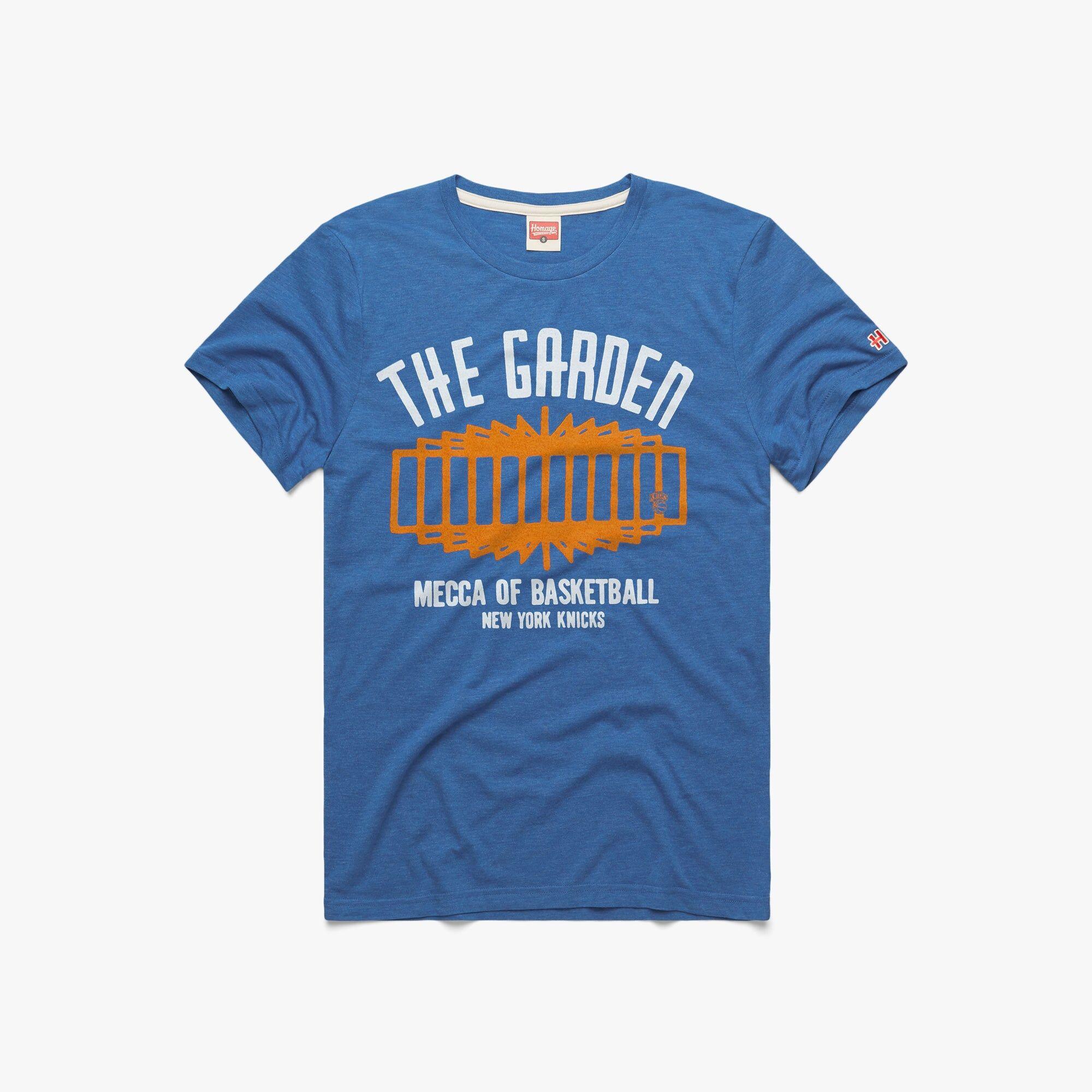 HOMAGE New York Knicks The Garden in  Blue (Size: 3XL)