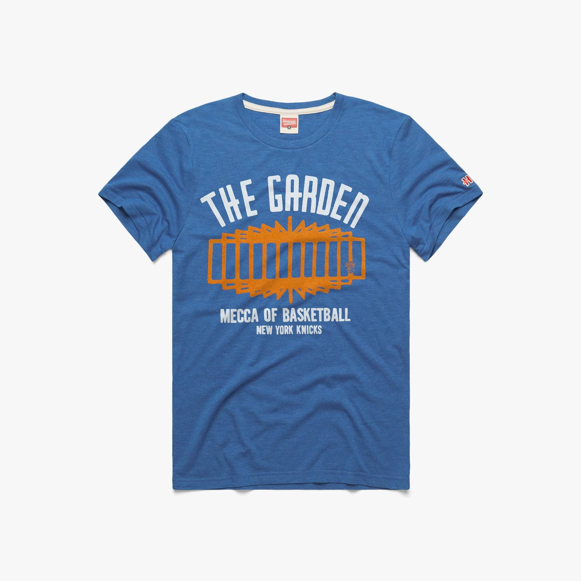 HOMAGE New York Knicks The Garden in  Blue (Size: L)
