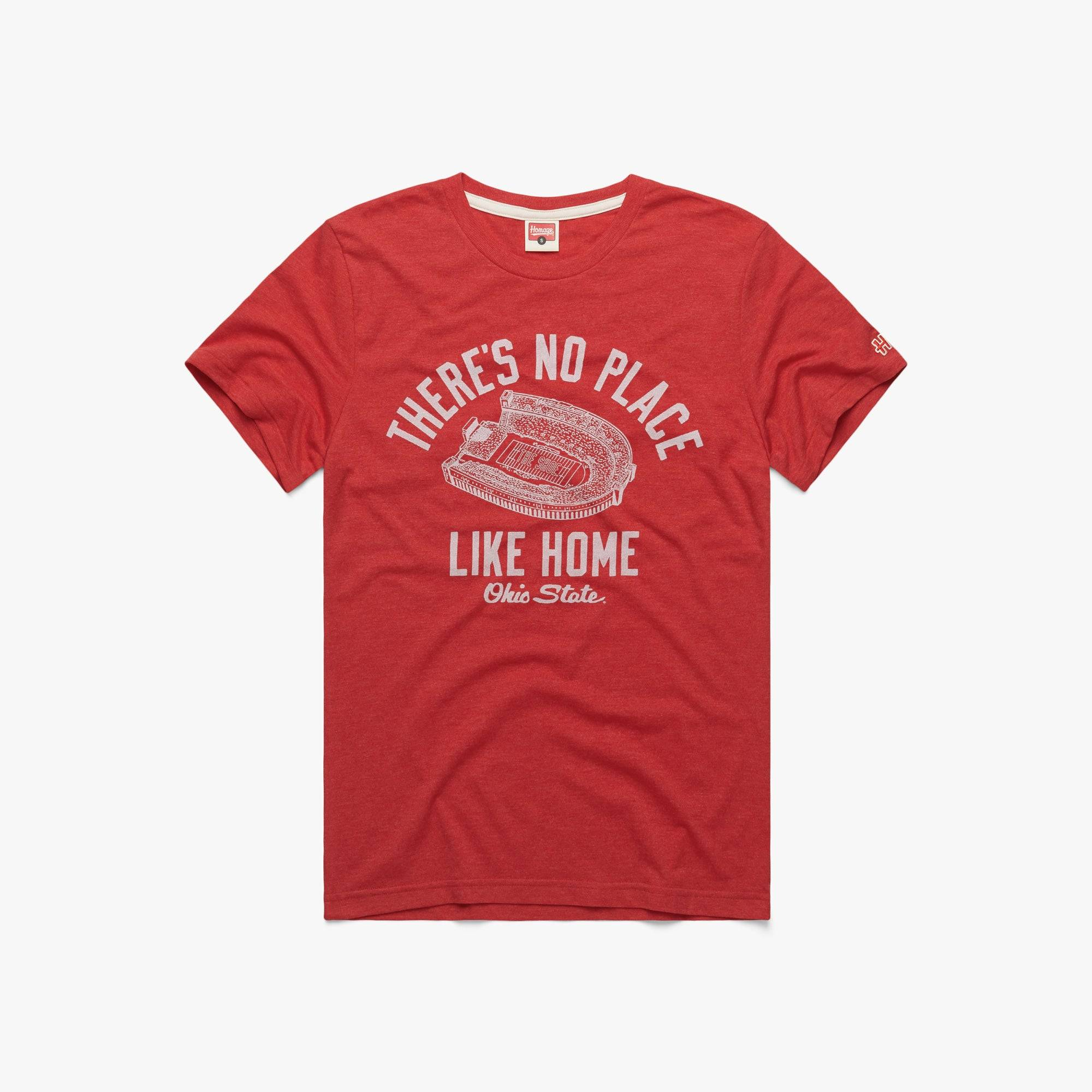 HOMAGE There's No Place Like Home Ohio State in  Red (Size: M)