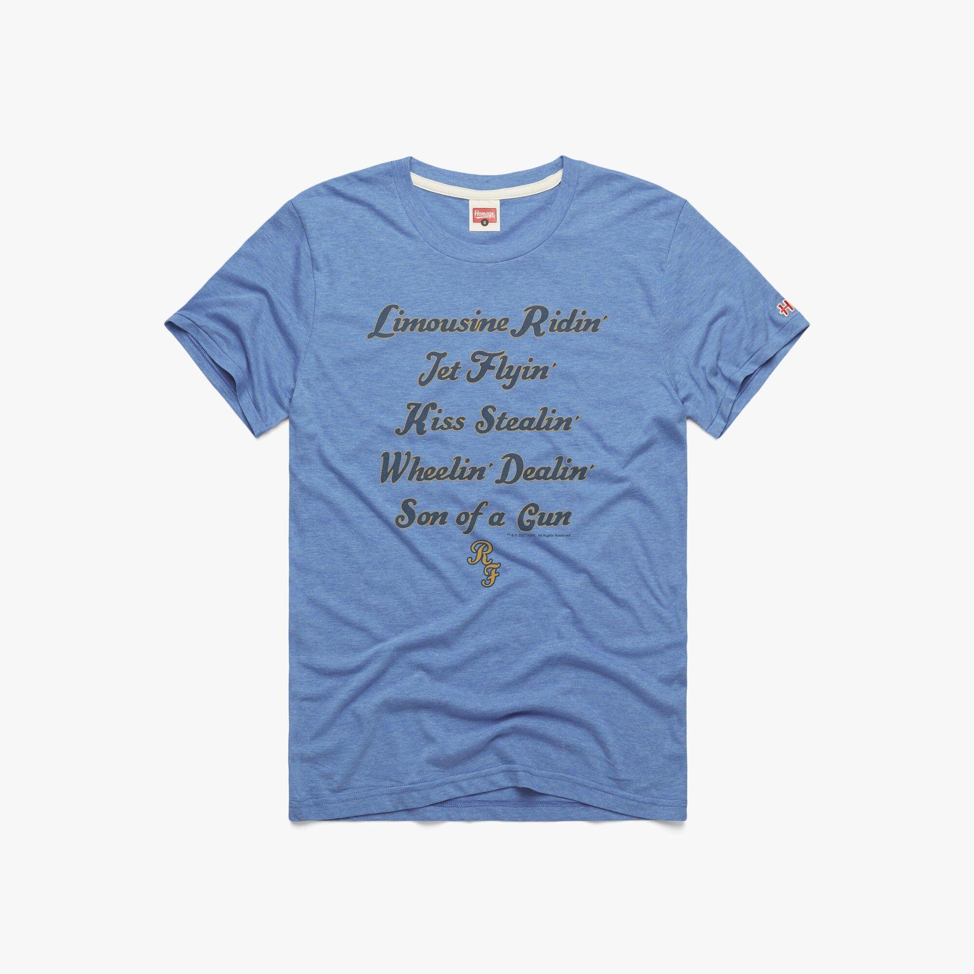 HOMAGE Wheelin Dealin Son Of A Gun in  Blue (Size: XL)