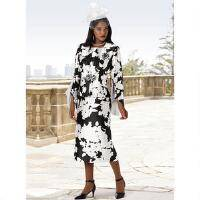 Garden of Contrast 3-Pc. Suit by EY Boutique