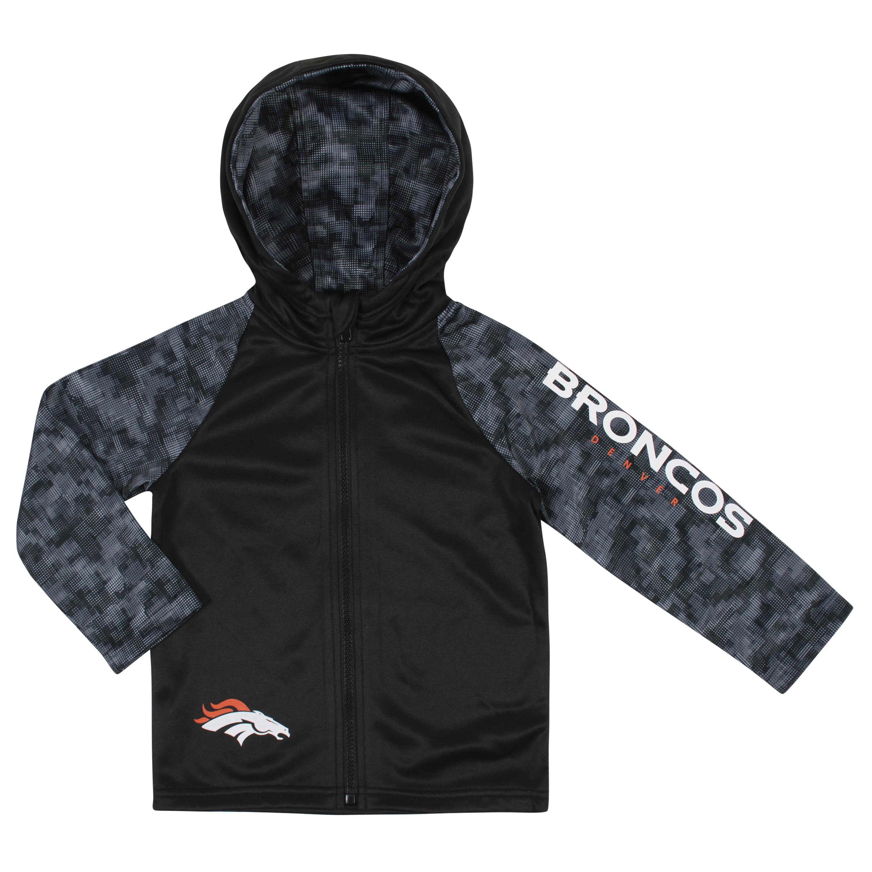 NFL Toddler Boys Denver Broncos Hooded Jacket - 4T