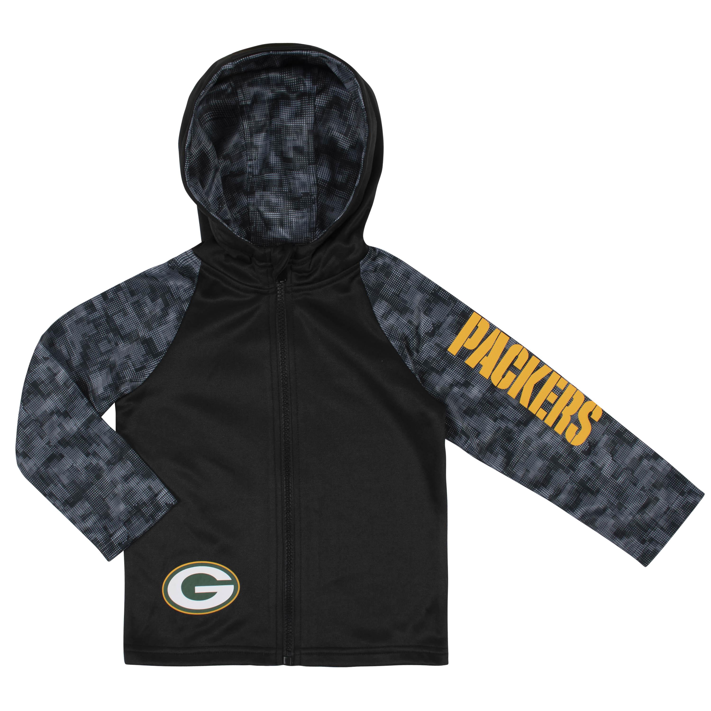 NFL Toddler Boys Green Bay PackersHooded Jacket - 12M