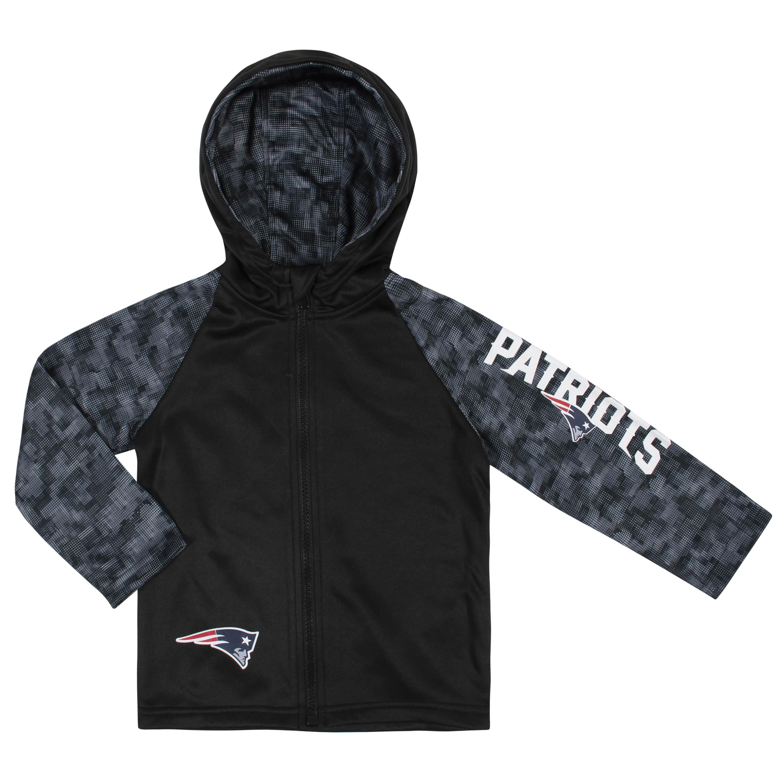 NFL Toddler Boys New England PatriotsHooded Jacket - 12M