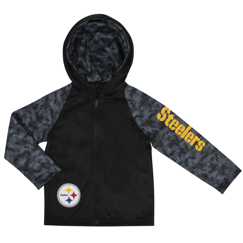 NFL Toddler Boys Pittsburgh SteelersHooded Jacket - 12M