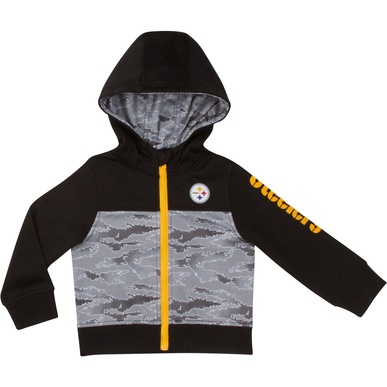 NFL Pittsburgh Steelers Toddler BoysHooded Jacket - 18M