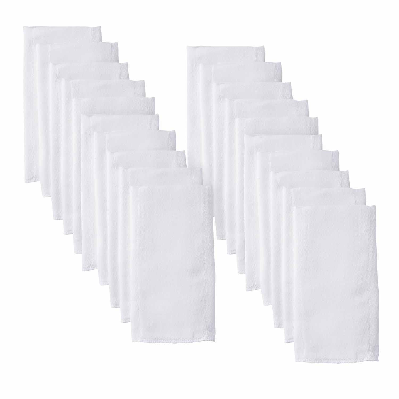 Gerber 20-Pack White Prefold Birdseye Cloth Diapers