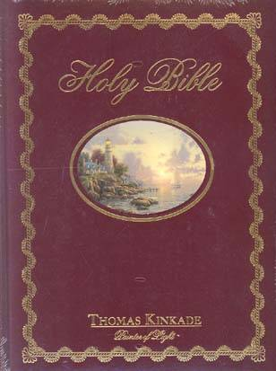Lighting the Way Home Family Bible (NKJV, 252KABAN, Hardcover with Onlay, Gilded-Gold Page Edges)