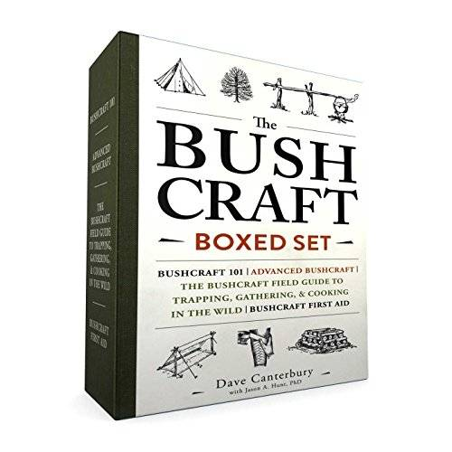 The Bushcraft Boxed Set (Bushcraft 101/Advanced Bushcraft/Field Guide to Trapping, Gathering, & Cooking/Bushcraft First Aid)