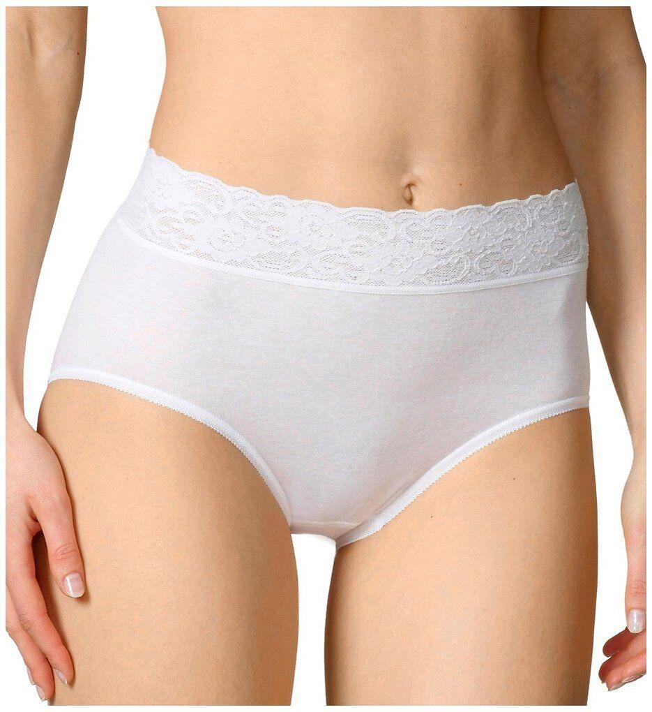 Calida 23907 Lycra Lace Brief Panties (White S)