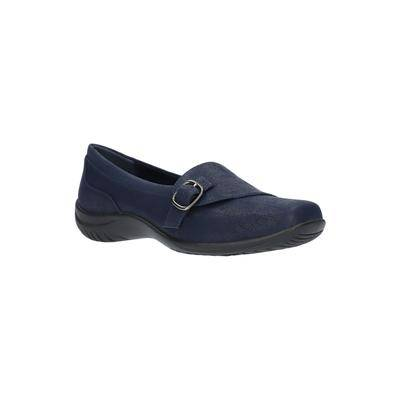 Easy Street Women's Cinnamon Slip On by Easy Street in Navy Blue (Size 8 M)