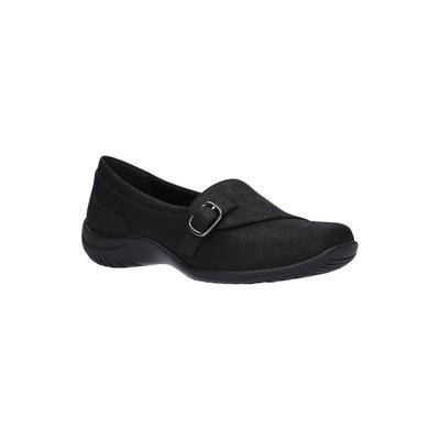 Easy Street Women's Cinnamon Slip On by Easy Street in Black (Size 8 1/2 M)