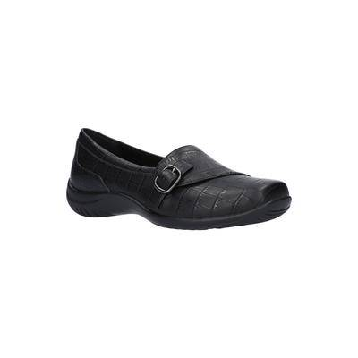 Easy Street Women's Cinnamon Slip On by Easy Street in Black Croco (Size 7 1/2 M)