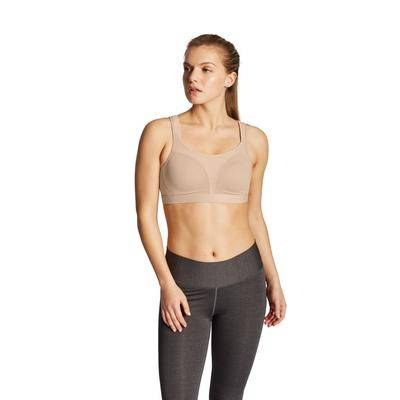 Champion Plus Size Women's Spot Comfort Sports Bra by Champion in Nude (Size 34 D)