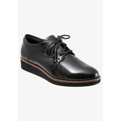 SoftWalk Women's Willis Oxfords Shoes by SoftWalk in Black Patent (Size 10 M)