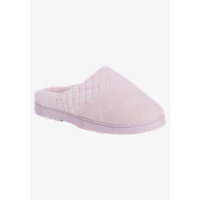 MUK LUKS Women's Micro Chenille Slipper Clogs by MUK LUKS in Pink (Size LARGE)