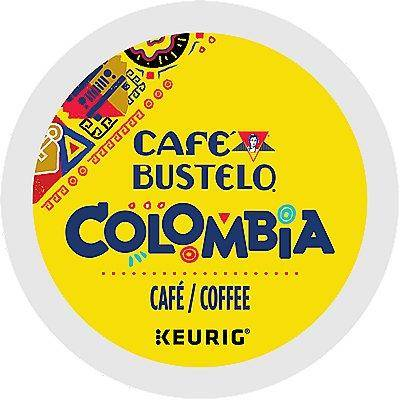 Caf Bustelo 72 Ct Caf Bustelo 100% Colombian Coffee 72-Count (3 Boxes Of 24) K-Cup Pods. Coffee