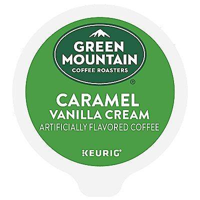 Green Mountain Coffee 96 Ct Green Mountain Coffee Caramel Vanilla Cream Coffee 96-Count (4 Boxes Of 24) K-Cup Pods. Coffee