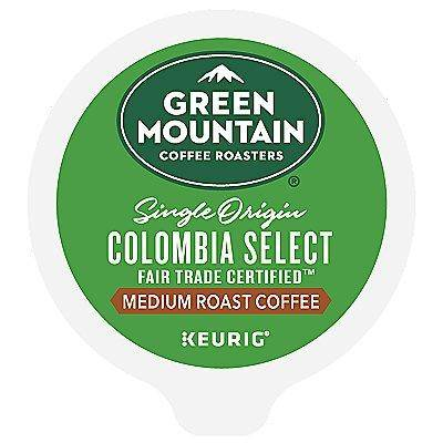 Green Mountain Coffee 72 Ct Green Mountain Coffee Colombia Select Coffee 72-Count (3 Boxes Of 24) K-Cup Pods. Coffee