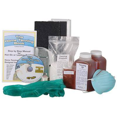 The Tannery Inc. The Tannery Complete Home Hide Tanning Kit