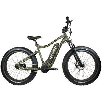 Rambo Bikes Roamer 750W High Performance Electric Bike Woodland Camo