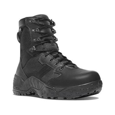 "Danner ""Danner Scorch 8"""" Side-Zip Tactical Boots Leather/Nylon Black Men's"""