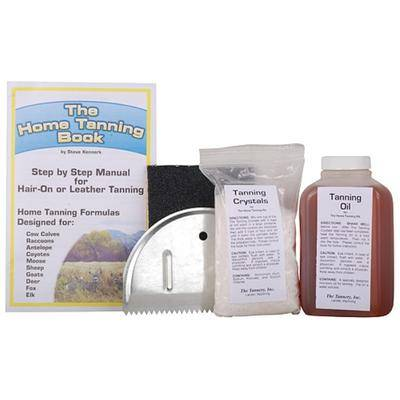 The Tannery Inc. The Tannery Basic Home Hide Tanning Kit