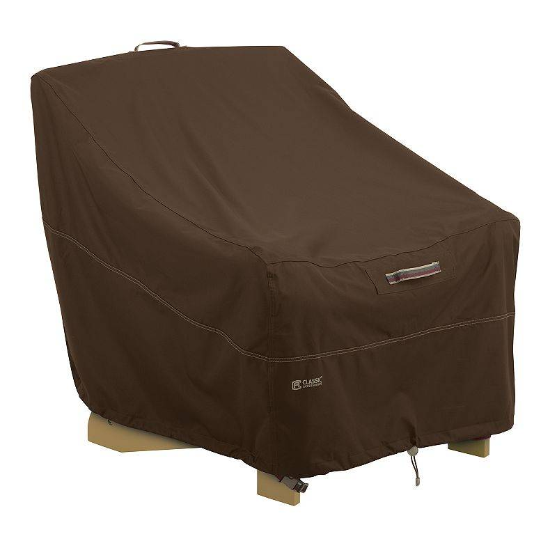Classic Accessories Madrona Adirondack Chair Cover, Dark Brown