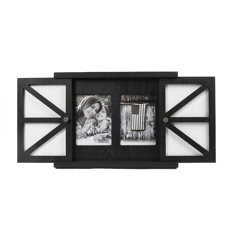 "New View Gifts & Accessories New View 2-Opening 5"" x 7"" Sliding Door Wall Frame"