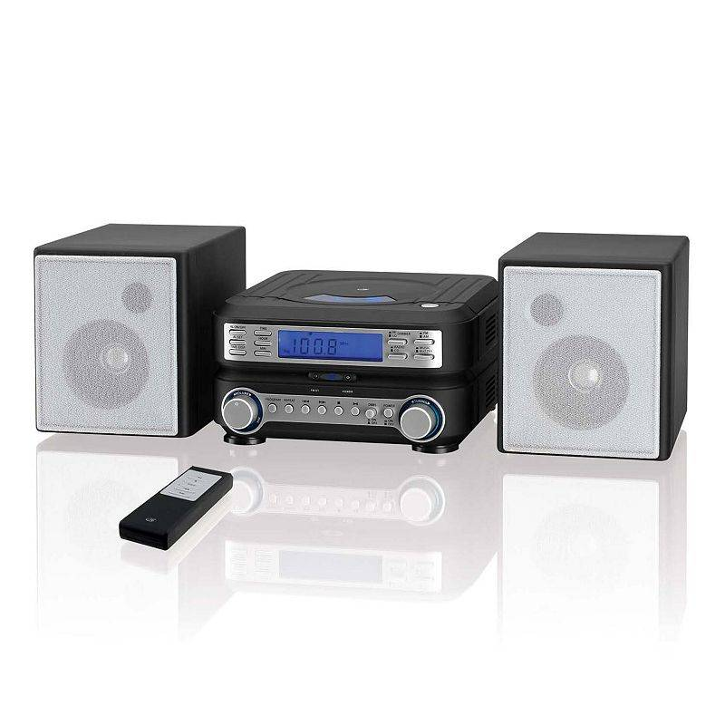 GPX Home Music System, Black
