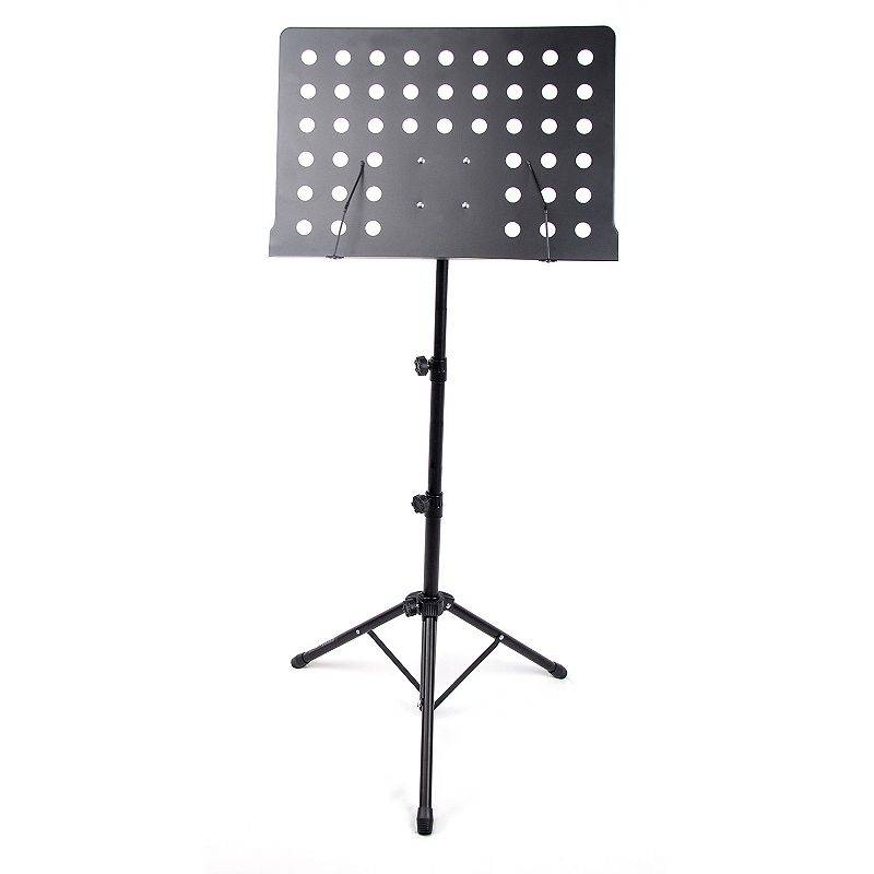 Reprize Accessories Orchestral-Style Music Stand, Black