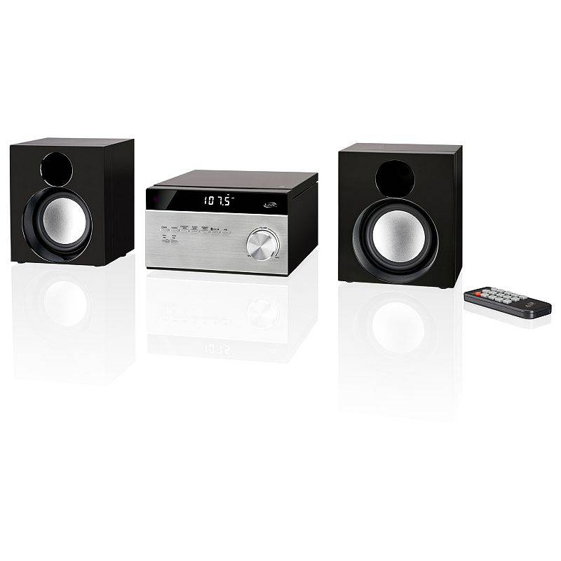 iLive Home AM/FM Music System with Bluetooth, Black