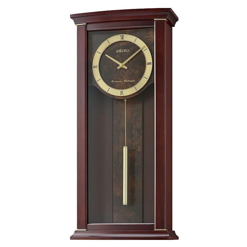 Seiko Contemporary Classics Wall Clock - QXH067BLH, Brown