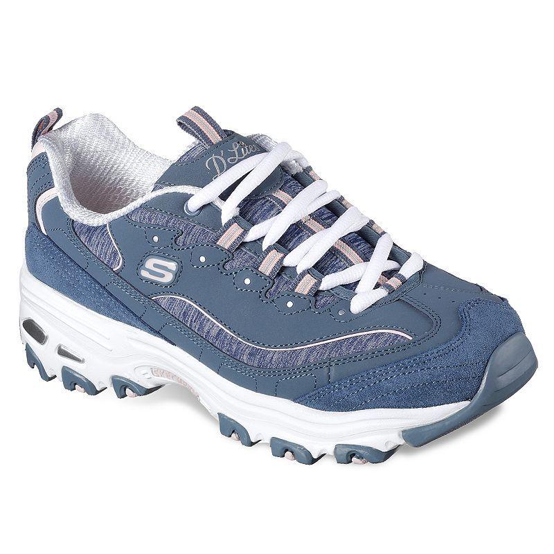 Skechers D'Lites-Me Time Women's Shoes, Size: 6, Orange