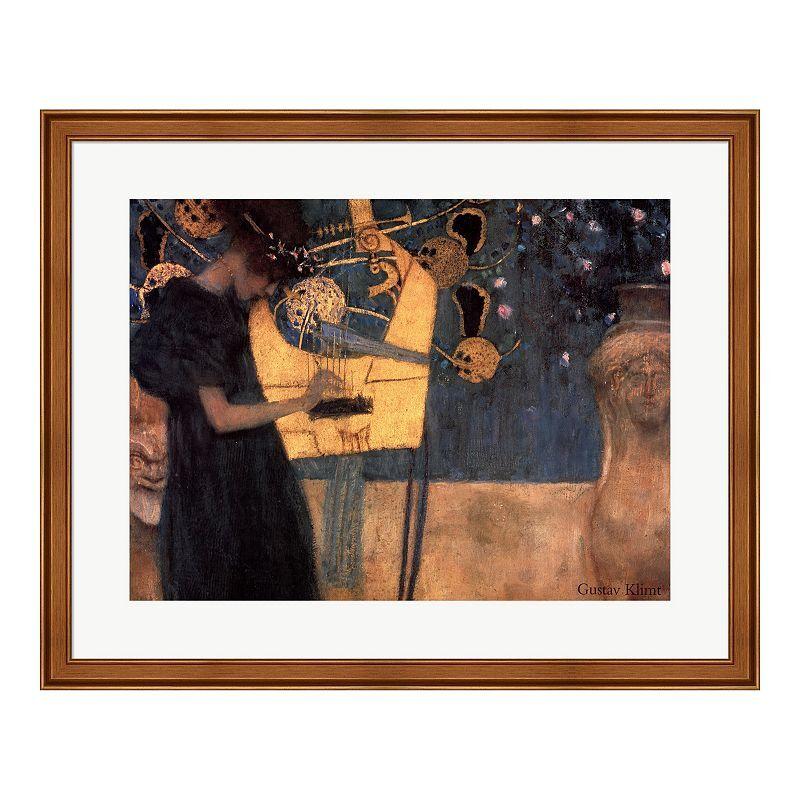"""Metaverse Art """"Music, c.1895"""" Framed Wall Art"""