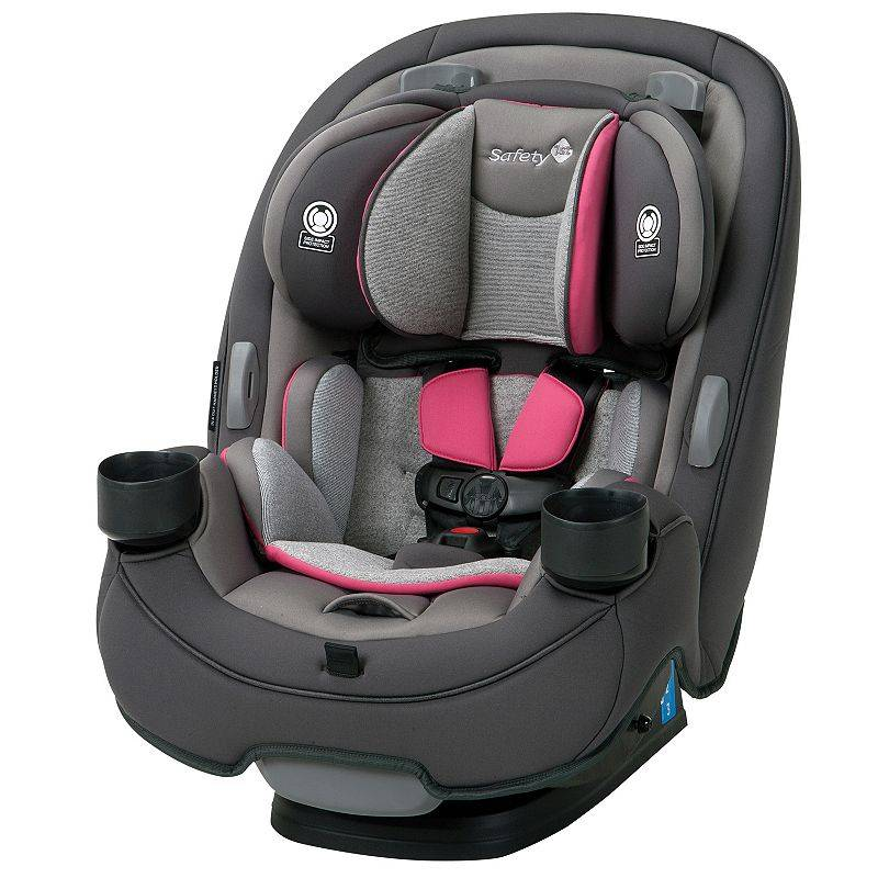 Safety 1st Grow & Go 3-in-1 Convertible Car Seat, Grey