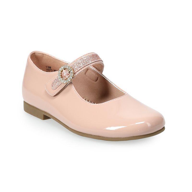 Rachel Shoes Millie Girls' Mary Jane Flats, Girl's, Size: 12, Pink Ovrfl