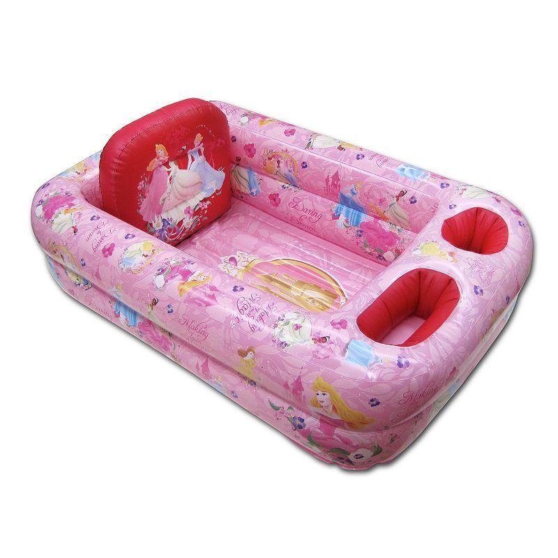 Disney Princess Inflatable Safety Bath, Pink