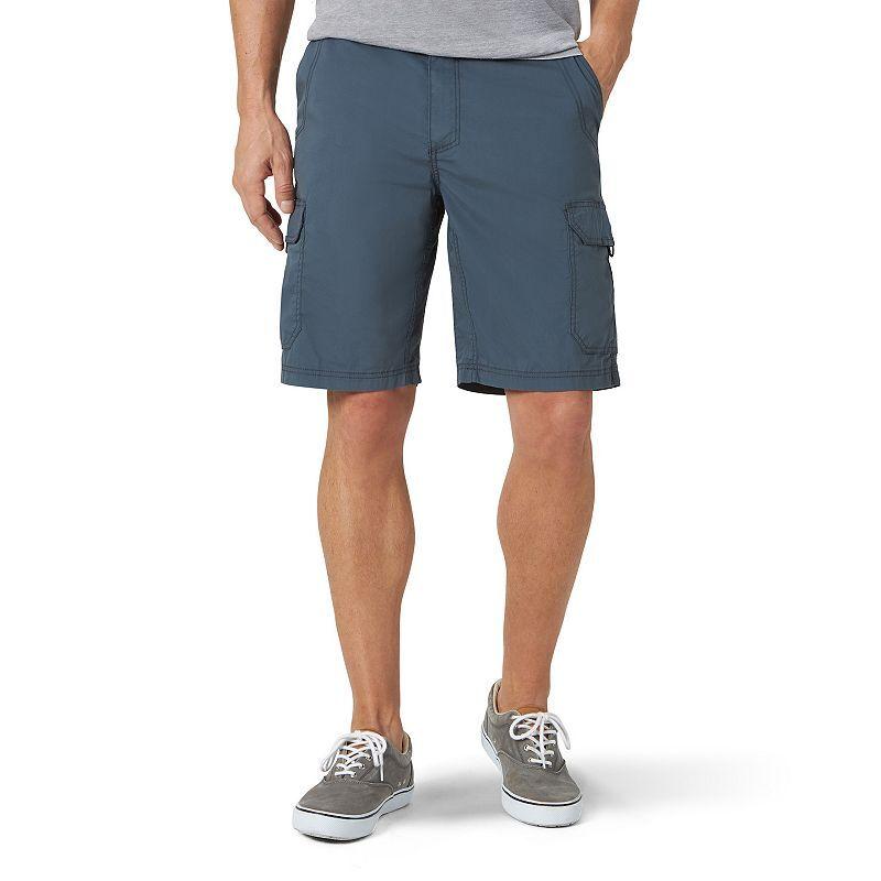 Lee Men's Lee Extreme Motion Crossroads Cargo Shorts, Size: 33, Grey