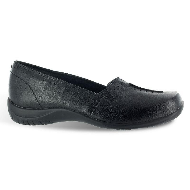 Easy Street Purpose Women's Slip-On Shoes, Size: 9 Wide, Black
