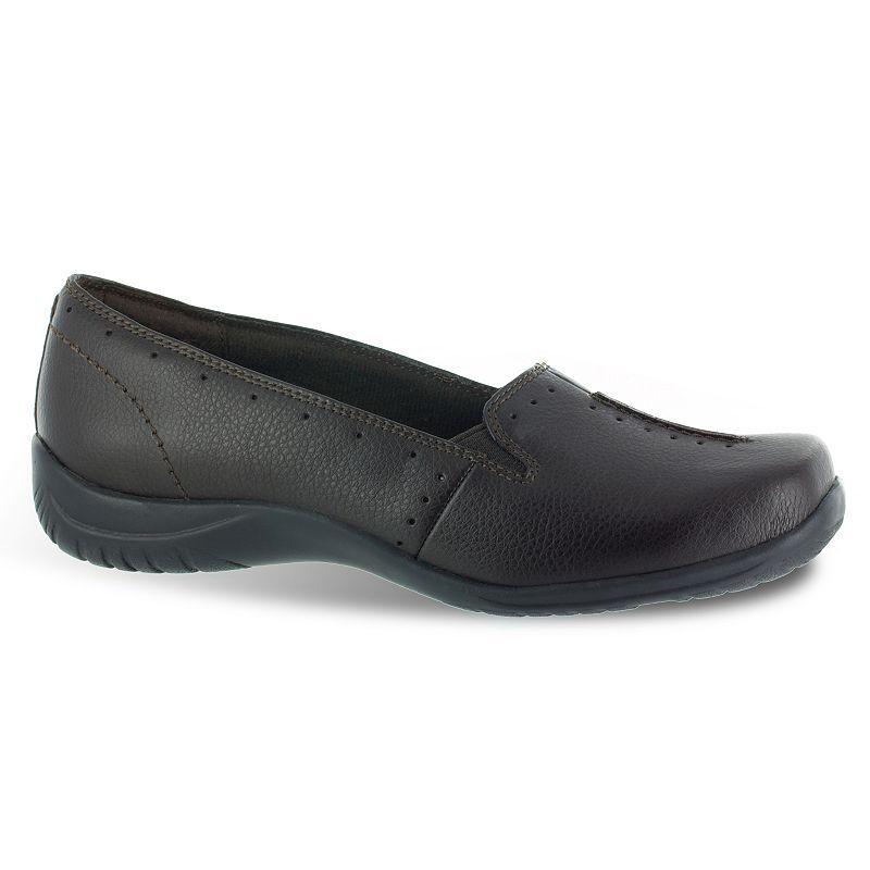 Easy Street Purpose Women's Slip-On Shoes, Size: Medium (6), Brown