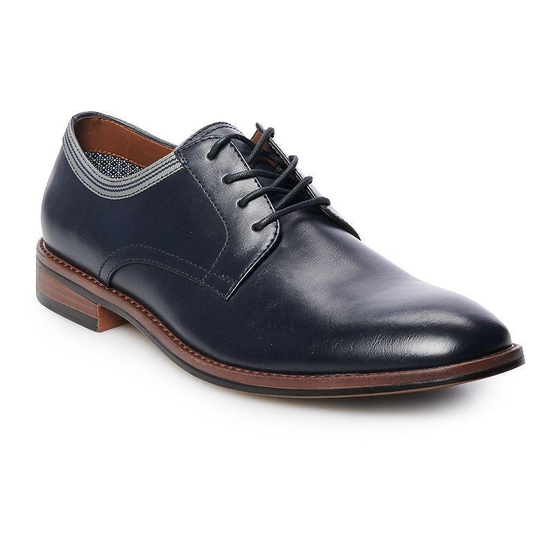 Apt. 9 Leon Men's Dress Shoes, Size: 11 Wide, Blue