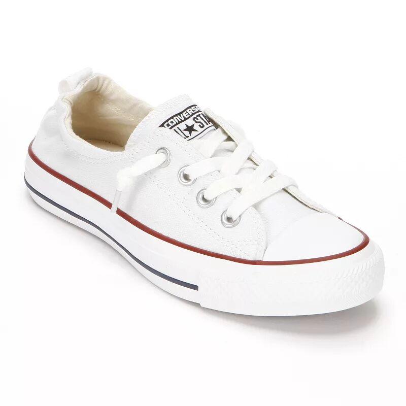 Taylor Women's Converse Chuck Taylor Shoreline Slip-On Shoes, Size: 11, White